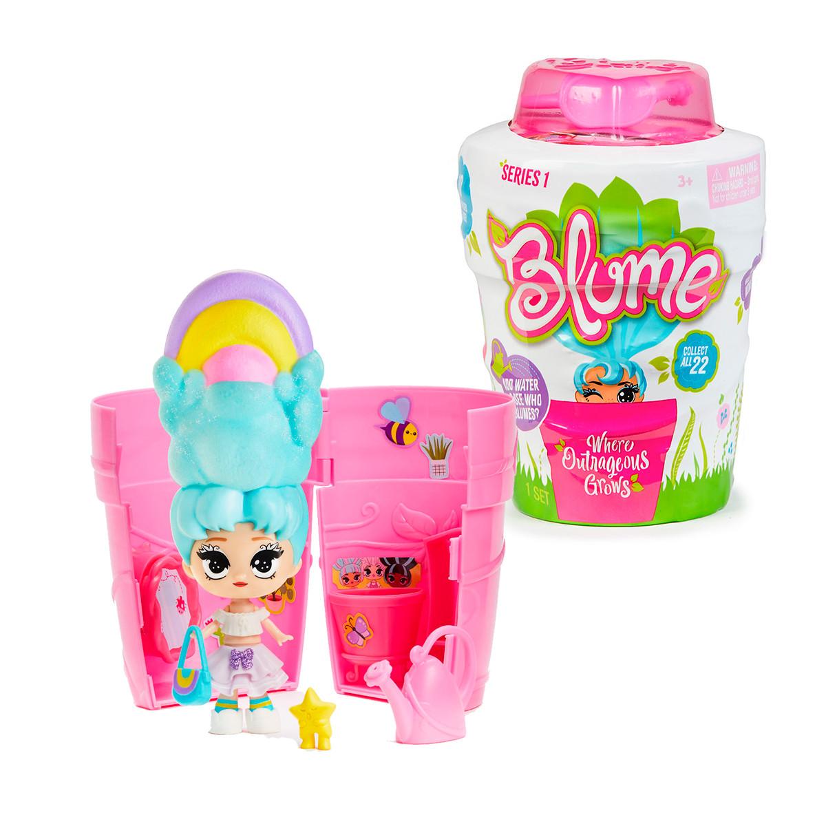 Игровой Набор С Куклой Blume - Сюрприз В Горшочке