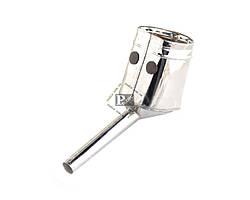 Лейка для топлива дизель металл с латунной сеткой
