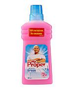 Моющая жидкость для уборки Mr. Proper Роза, 500 мл