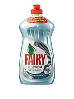Жидкость Fairy Platinum Ледяная свежесть, 480 мл