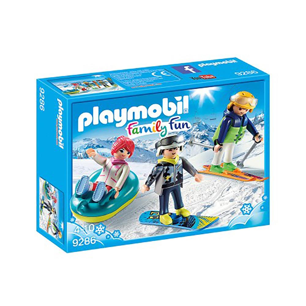 """Ігровий набір """"Зимові види спорту"""" Playmobil (4008789092861)"""