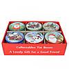 """Коробка для печива і цукерок """"Новорічна"""" 4.5*10.5 см CF782"""