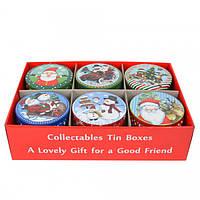 """Коробка для печива і цукерок """"Новорічна"""" 4.5*10.5 см CF782, фото 1"""