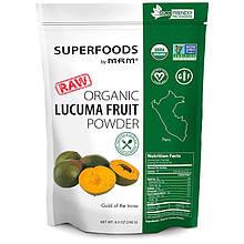 """Лукума органическая MRM """"Raw Organic Lucuma Fruit Powder"""" в порошке (240 г)"""