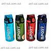 """Пластиковая спортивная бутылочка для воды """"Sport life"""" разные цвета, бутылка спортивная, многоразовая бутылка"""