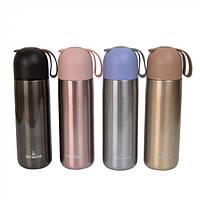 """Термос для горячих и холодных напитков """"Classik"""" разные цвета, 350мл, 21х6см, термосы, термос для чая, фото 1"""