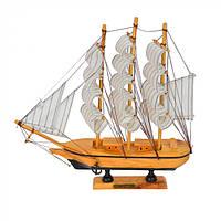 Корабль декоративный для сувенира Confection 29х30см, дерево, корабль для сувенира, корабль Confection, фото 1