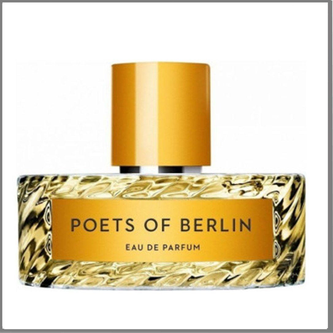 Vilhelm Parfumerie Poets Of Berlin парфумована вода 100 ml. (Вільгельм Парфумер Поети Берліна)