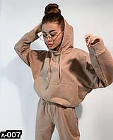 Стильный женский спортивный костюм С, М +большие размеры, фото 1
