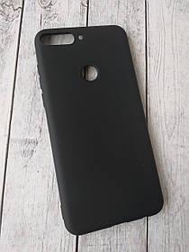 Чехол для телефона Huawei Honor 7X Silicone TPU Soft Case Black
