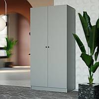 Гардеробный шкаф Малунг, цвет серый, фото 1
