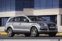 Лобовое стекло на Audi Q7