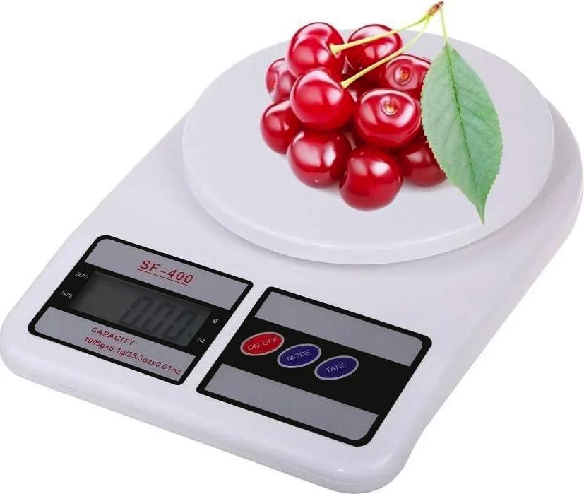 Весы кухонные электронные  Kitchen SF-400 Белые