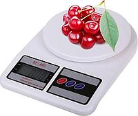 Весы кухонные электронные  Kitchen SF-400 Белые, фото 1