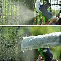 Щетка Скребок для мытья окон Easy Glass 3 in 1 Spray Window Cleaner, фото 1