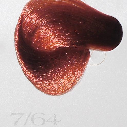 7/64 Vitality's Tone Тонирующая безаммиачная краска  краска - Медно-красный блондин ,100мл