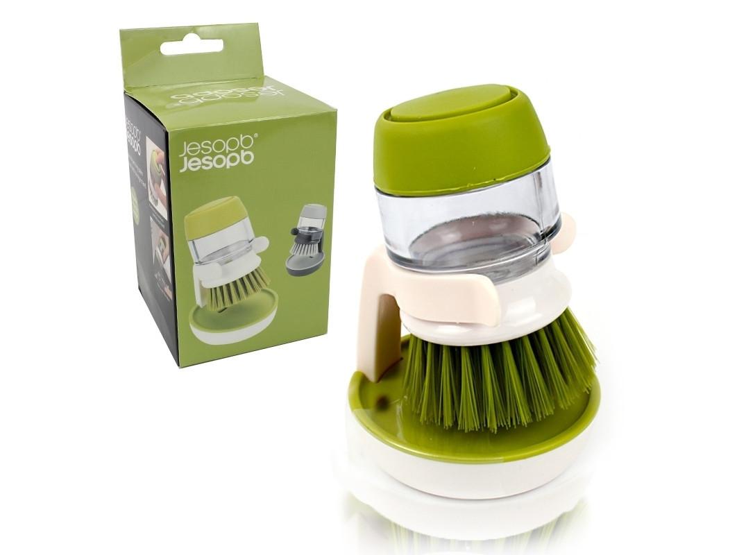 Щётка-дозатор для мытья, для жидкого мыла Jesopb Soap Brush