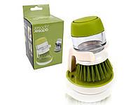 Щётка-дозатор для мытья, для жидкого мыла Jesopb Soap Brush, фото 1