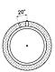 Тепловой аккумулятор Kronas ТА0.1500 на 1445 литров с изоляцией кожзам + синтепон без теплообменника, фото 7