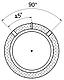 Тепловой аккумулятор Kronas ТА0.1500 на 1445 литров с изоляцией кожзам + синтепон без теплообменника, фото 8