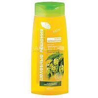 Живой шампунь для укрепления и блеска волос (Шишки Пивного Хмеля) - Bielita Целебные Решения 480мл.