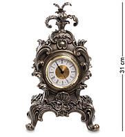 Часы каминные Veronese в стиле барокко Королевский цветок 31 см 1902581, фото 1