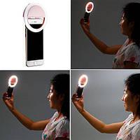 Лампа кольцо светильник с подсветкой для селфи selfie light W-16, фото 1