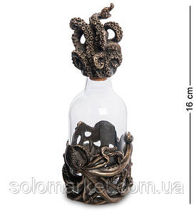 Статуетка -пляшка Veronese Восьминіг 16 см 1906357