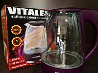 Электрический чайник  Vl-2020  Стекло супер амолед