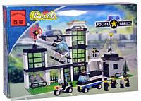 """Конструктор Brick 110 """"Полиция"""", Конструктор Брик"""