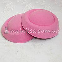 Основа для шляпки-таблетки 16 см, светло-розовая