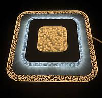 Стильный светодиодный светильник квадрат 45 ватт, фото 1