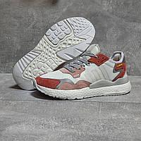 Літні білі кросівки Adidas 3M жіночі сітчасті кросівки адідас