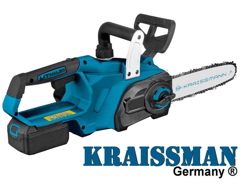 Аккумуляторная цепная пила Kraissmann 4000 AKS 18 Li