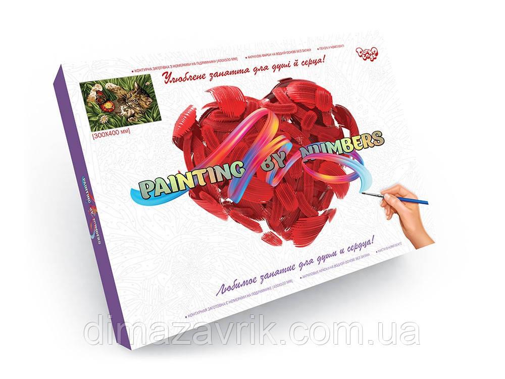 "Набор для творчества ""Картина по номерам"" 40*30 см Danko Toys"