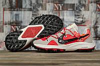 Кроссовки мужские 16721, Nike Air Zoom, красные, < 42 43 44 45 > р. 42-26,0см., фото 1