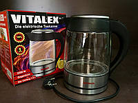Электрический чайник  VL-2021 стекло с подсветкой !!!