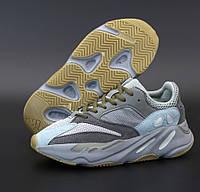 """Женские кроссовки Adidas Yeezy Boost 700 V2 """"Teal Blue"""" 36-40р демисезонная осень весна. Живое фото. Реплика, фото 1"""