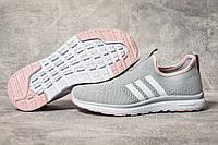 Кроссовки женские 17601, Adidas sport, серые, < 38 39 40 41 > р. 38-24,8см., фото 1