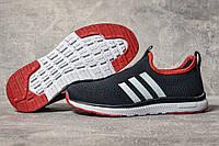 Кроссовки женские 17603, Adidas sport, темно-синие, [ 36 37 38 40 41 ] р. 36-23,5см., фото 1