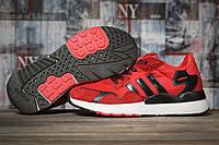 Кроссовки женские Adidas красные  летние сетка Адидас Nite Jogger Boost 3M, фото 1