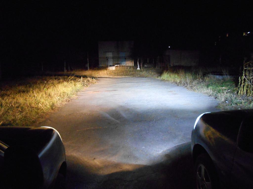 Лед лампы в фары головного света и в задние фонари на габарит/стоп автомобиля Peugeot Partner