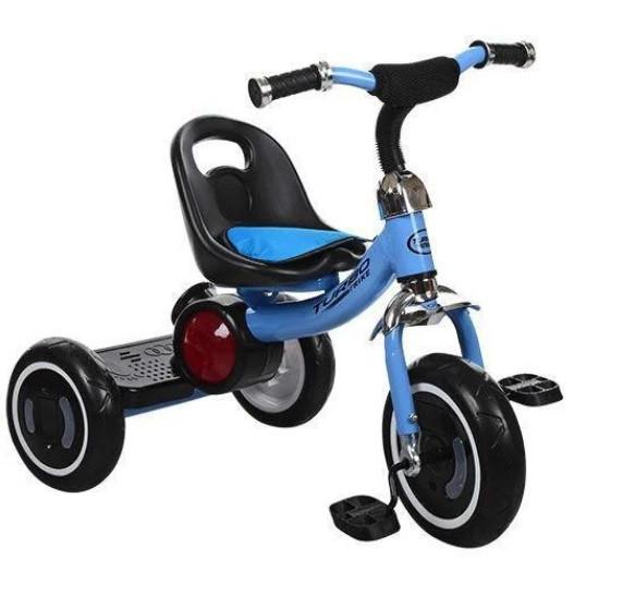 Велосипед трехколесный Turbo Trike с корзинкой, Свет колёс, ровер