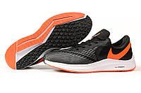 Кроссовки мужские Nike Zoom Winflo 6 темно-серые летние мужские кроссовки Найк, фото 1