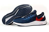 Кроссовки мужские Nike Zoom Winflo 6 Найк Зум темно-синие кроссовки мужские летние, фото 1
