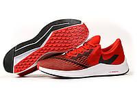 Красные кроссовки Nike Zoom Winflo 6 Найк Зум кроссовки мужские летние, фото 1