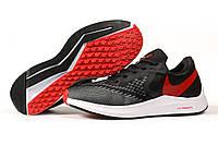 Кроссовки мужские Nike Zoom Winflo 6 черные кроссовки Найк Зум летние, фото 1