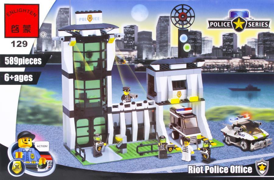 """Конструктор Brick 129 """"Полиция"""""""