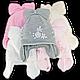 Комплект (шапка + шарф) Польского производителя Amal с подкладкой ISO SOFT, модель АML 50, фото 4