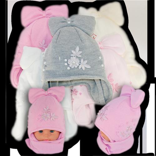 Комплект (шапка + шарф) Польского производителя Amal с подкладкой ISO SOFT, модель АML 50